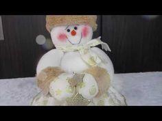 DULCERO NAVIDEÑO | ARTE JESICA| MUÑEQUERIA NAVIDEÑA - YouTube Reindeer, Snowman, Primitive Doll Patterns, Reno, Santa, Teddy Bear, Toys, Videos, Christmas Ideas