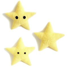 FREE crochet pattern: Sterling the Star by Monster's Toy Box - Available at LoveCrochet Crochet Star Patterns, Crochet Stars, Christmas Knitting Patterns, Crochet Baby, Free Crochet, Crochet Mobile, Monster Toys, Paintbox Yarn, Red Heart Yarn