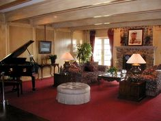 I have played that piano. My tour guide let me when she saw me looking at it. Southfork Ranch, New Series, Tour Guide, Favorite Tv Shows, Piano, Dallas, Living Room, The Originals, Sitting Rooms