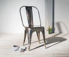 #Esszimmerstuhl Nala Metall vernickelt  Für Dich auf: https://www.delife.eu/esszimmerstuhl-nala-metall-vernickelt/a-8498/?campaign=smm%2Fpinterest