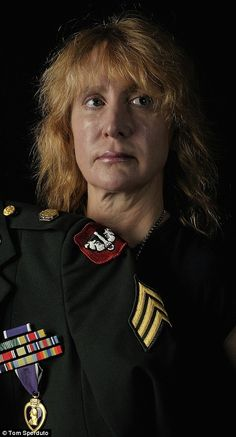 Honorable: Army National Guard Sgt Susan Sondheim,  was the first woman in U.S. history to receive the Purple Heart medal