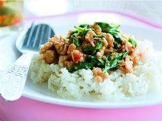 Bangkok Street Food's Stir-Fried Chicken with Holy Basil