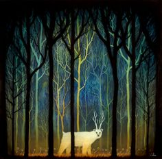 PROFOUND ENCOUNTERS AMID THE FOREST DEEP