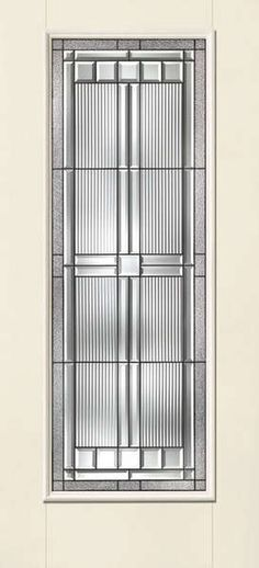 THERMA-TRU SMOOTH STAR SARATOGA FULL LITE DOOR