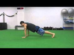 94.【筋トレ】1分間〜ながらトレーニング -Shoulder Touch Plank-