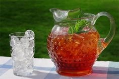 There is NOTHING like a glass of Sweet Tea on a hot summer's day!