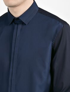 Poplin Stretch Pleat Shirt alternative image