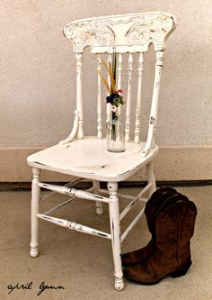 painting press back chairs ideas for my harvest table