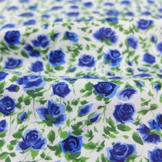 Ricardo's Bloom Blue -  Liberty Art Fabric
