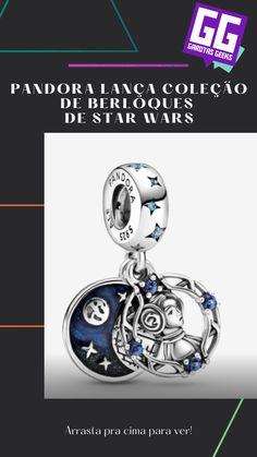 Para ter berloques de uma galáxia muito, muito distante, a Pandora lançou uma coleção inspirada em Star Wars! Pandora, Ale, Nerd, Geek Stuff, Star Wars, Stars, Geek Things, Ales, Starwars
