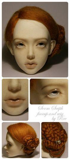 [Голова куклы.]