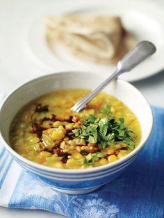Greek Split Pea Soup with Lemon   Recipe   Soups, Lemon and Food ...