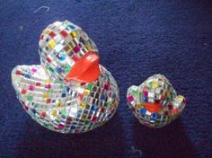 Mother and Baby Disco ducks