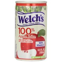 Welch's Apple Juice, oz Each, 48 Cans Total Welch Juice, Beverages, Drinks, Apple Juice, New Flavour, Vitamin C, Meal Prep, The 100, Snacks