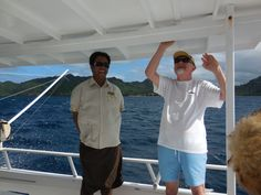 """The easiest and most relaxing way to see our island is by taking our """"around the island"""" boat tour. Sireli loves giving this tour, and when you get to beautiful Horseshoe Bay, he likes to see how many mountain goats can be spotted resting on the island's rugged volcanic rock faces warming themselves in the sun. How many of you have seen our mountain goats?"""