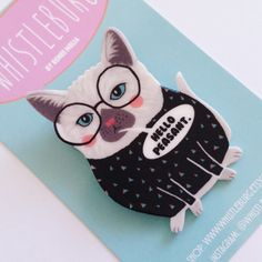 This arrogant cat pin: | Community Post: 17 Perfect Items For People Who Think They're Better Than Everyone Else