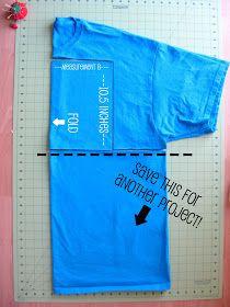 stayathomeartist.com: t-shirt yoga skirt tutorial...