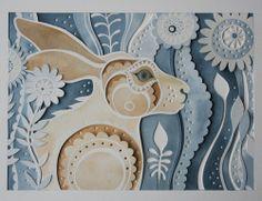 Cut Paper Artwork - Louise Jenkins.