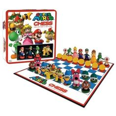 USAOPOLY 190767 Super Mario Collectors Edition Chess Game: Amazon.co.uk: Kitchen & Home