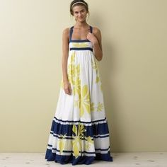 J Crew Collection Talitha Maxi Long Dress Limited Edition Tropical