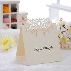 Place+Cards+and+Holders+Elegant+Place+Card+-+Set+of+12+(More+Colors)+–+USD+$+3.99