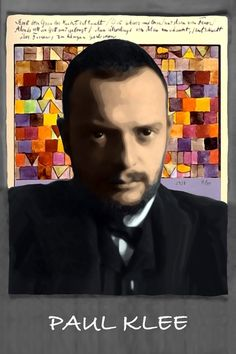 One of the greatest .. Paul Klee. From: Perspectives on art by Henk van Os, via Behance