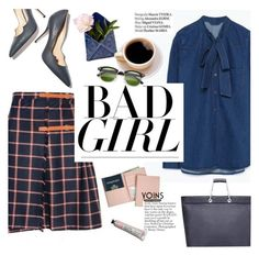"""bad girl"" by punnky ❤ liked on Polyvore featuring Paul Andrew, Creative Works, Haute Hippie, Royce Leather, men's fashion and menswear"