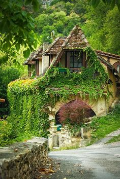 ~House in Rocamadour, Dordogne, France~