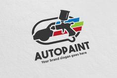Car Paint Logo by WheelieMonkey on @creativemarket