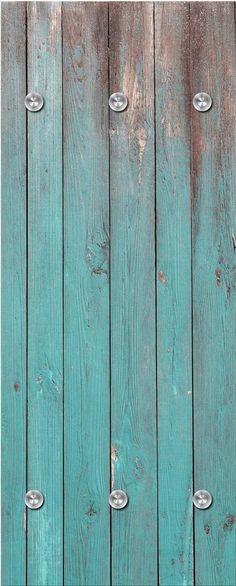 Garderobenpaneel Holzbretter Praktische Wandgarderobe