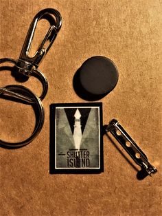 Mini Movie Script Keychain, Pin or Magnet: Shutter Island $7. Contact me here or at orifaith1@yahoo.com to purchase. First time buyers will receive a 10% discount. #shutterisland #leonardodicaprio #markruffalo #michellewilliams #emilymortimer #benkingsley #martinscorsese #dennislehane