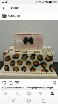 Leopar pasta Leopar cake Söz nişan pastası Wedding cake