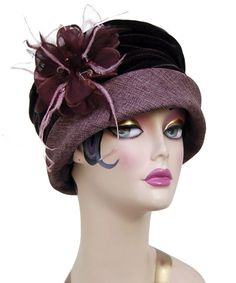 ~1920s cloche hat~  #1920sheadwear