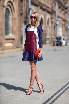 Australia Fashion Week Spring 2013: Street Style