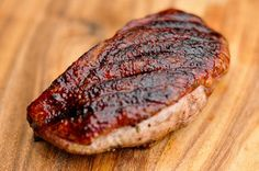 Grilled Spice-Rubbed Duck Breast Recipe :: The Meatwave
