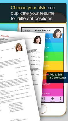 39 Best Resume Cv Apps Images Resume Resume Cv App