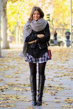 trendy_taste-look-outfit-street_style-moda_españa-fashion_spain-black_blouse-MM_watches-blusa_negra-tartan_skirt-falda_cuadros-givenchy_boots-botas_negras-zara-thecode-pepito-polaroid-14 by Trendy Taste, via Flickr