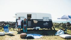 caravan renovation: The Block's Michael & Carlene unveil their home on wheels