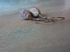 morphing seas earrings by greybirdstudio on Etsy