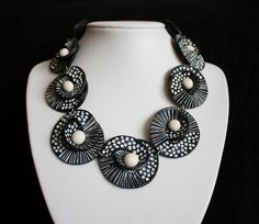 Necklace: Let's Swirl! by An & Art, via Flickr