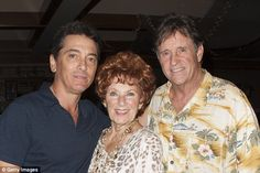 The more the merrier! Robert Hays was also there