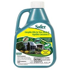 Safer Brand 5163 Caterpillar Killer II Concentrate 16 oz -- Learn more by visiting the image link.
