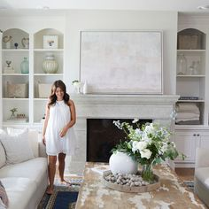 """Jillian Harris x Saje Wellness: The Wait is Finally Over! - - Co-host of HGTV Canada's """"Love It or List It Vancouver"""" & Former Bachelorette, Jillian Harris, shares details of her collaboration with Saje Wellness. Jillian Harris, Style At Home, One Kings Lane, Living Room Designs, Living Room Decor, Living Rooms, Ikea Kitchen Remodel, Mawa Design, Perfect Day"""