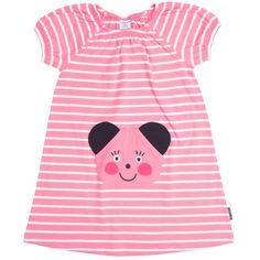 Polarn O. Short Dresses, Girls Dresses, Slip Over, Applique Dress, Inspiration For Kids, Striped Dress, Sleeves, Stuff To Buy, Shirts