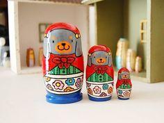 - Matryoshka - Dog Nesting Dolls