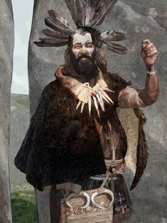 Bronze Age, Upton Lovell Shaman by Kelvin Wilson Ancient Egyptian Art, Ancient Aliens, Ancient History, Ancient Greece, Prehistoric Man, Sword And Sorcery, European History, American History, Stone Age