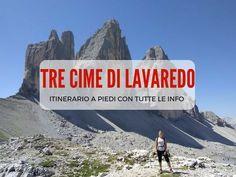 Se stai pensando di fare il giro delle Tre Cime di Lavaredo a piedi, qui troverai tutte le informazioni sul percorso, sul pedaggio e sul dove mangiare. Italy Travel, Climbing, Wanderlust, World, Places, Beautiful, Walking, Cottage, Outdoors