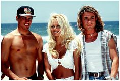 Pamela Anderson and Kelly Slater