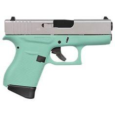 GLOCK 43 Subcompact Semi-Auto Pistol – Robin's Egg Blue | Bass Pro Shops