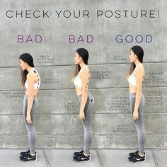 Regrann from @vinnierehab - POSTURE ALWAYS MATTERS. [postural advice]  Bad posture is bad for not only your health but for your overall well-being. The muscle and ligament imbalances that result from poor alignment can cause bad circulation, hunched backs, and pain from things like hip and back injuries, headaches, and chronic back, neck, and shoulder pain. A lot of times the body overcompensates for this pain and over time, we begin to think its normal, but it is not!  Here is…